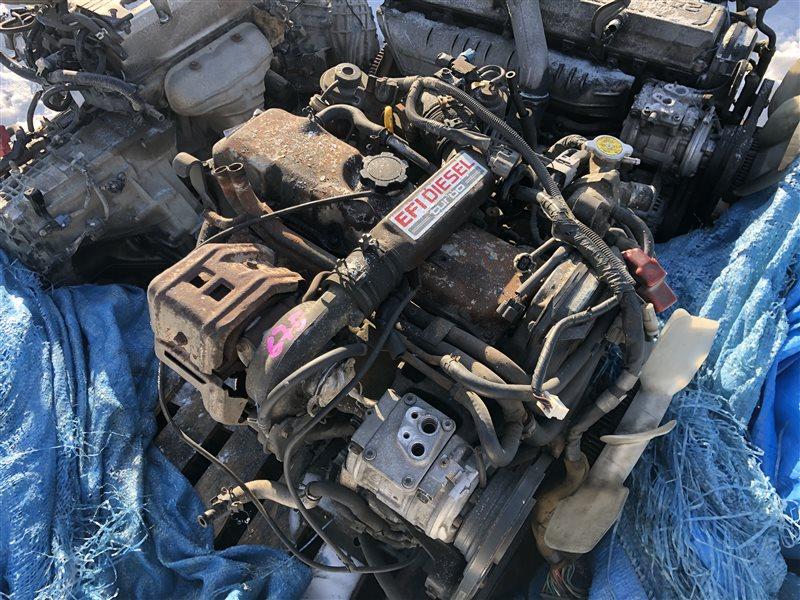 Двигатель Toyota Land Cruiser Prado LJ71 2LTE 1993 (б/у)