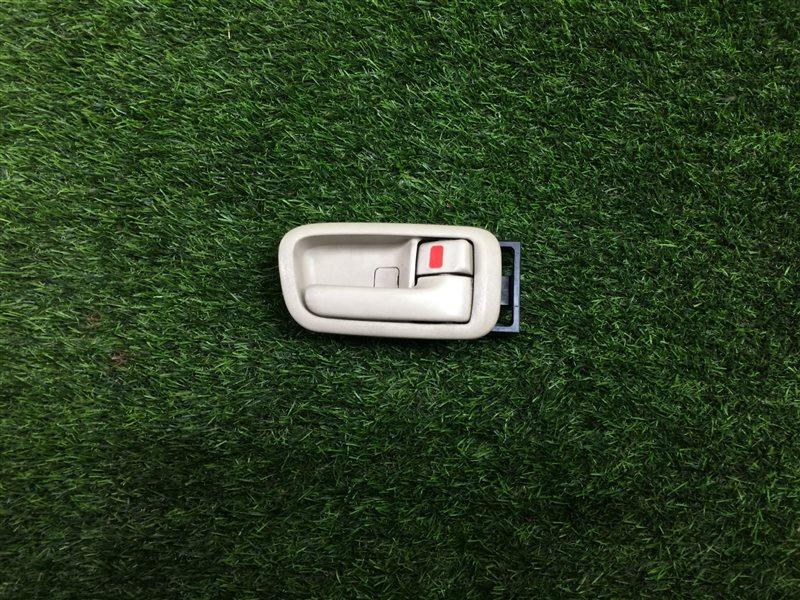 Ручка двери внутренняя Toyota Vista SV50 3SFE передняя правая (б/у)