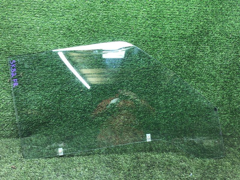 Стекло двери Mazda Bongo SK22L F8 2014 переднее правое (б/у)