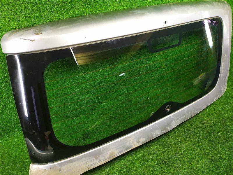 Стекло двери багажника Nissan Cube BNZ11 HR15DE заднее (б/у)