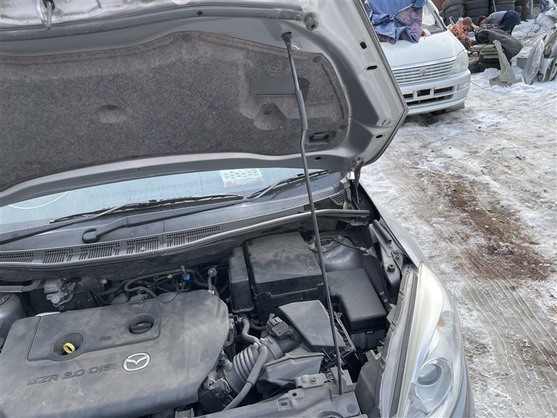 Упор капота Mazda Premacy CWEAW LFVD 2011 (б/у)
