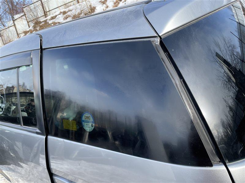 Стекло собачника Mazda Premacy CWEAW LFVD 2011 заднее левое (б/у)