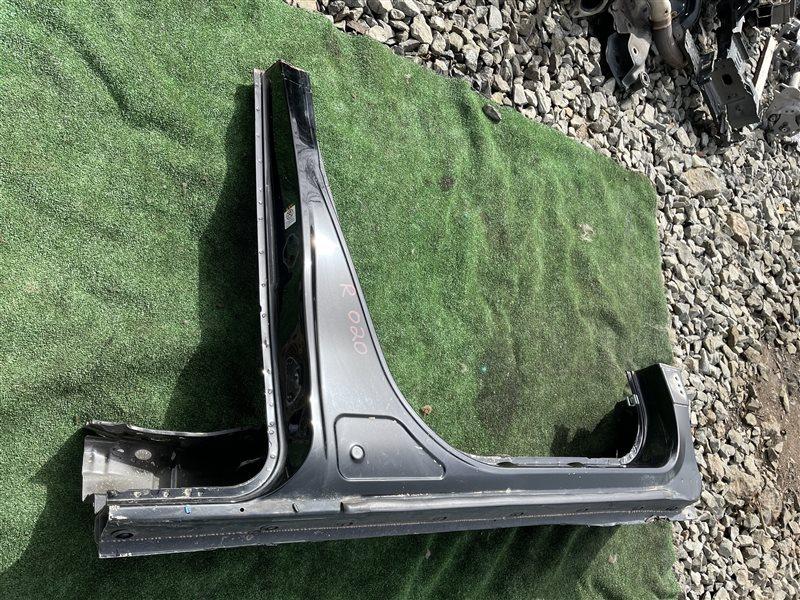 Порог кузова Toyota Vellfire ANH20 2AZFE 2009 правый (б/у)