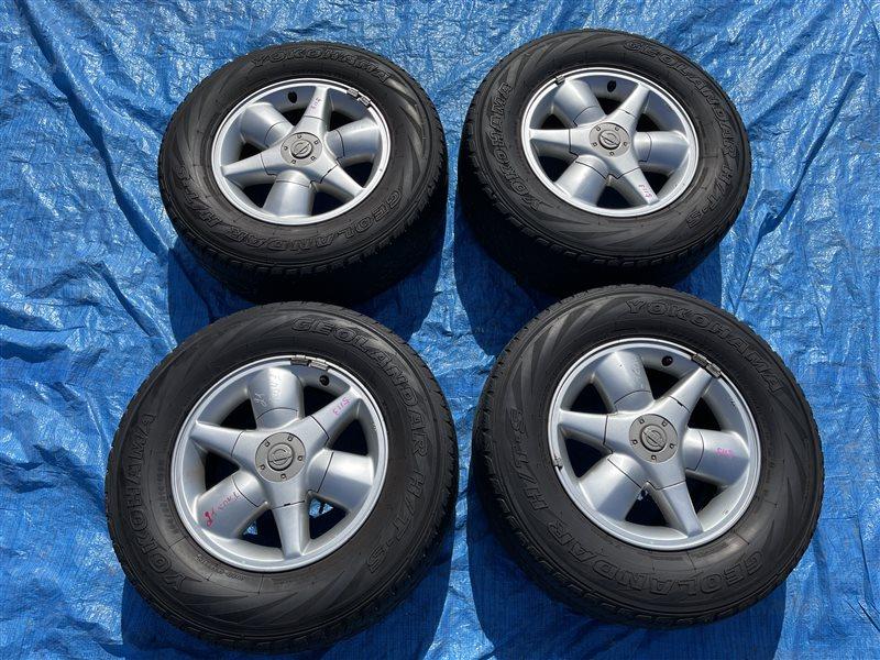 Диски литые Nissan Terrano LR50 QD32TI (б/у)