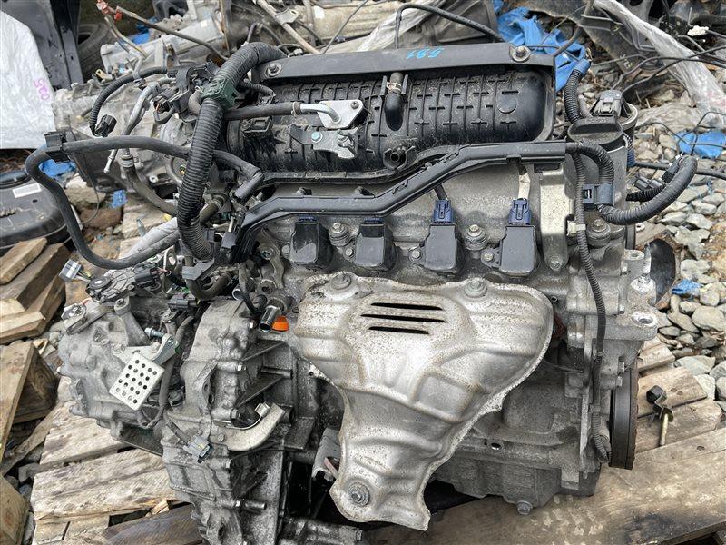 Двигатель+акпп Honda Airwave GJ2 L15A 2008 (б/у)