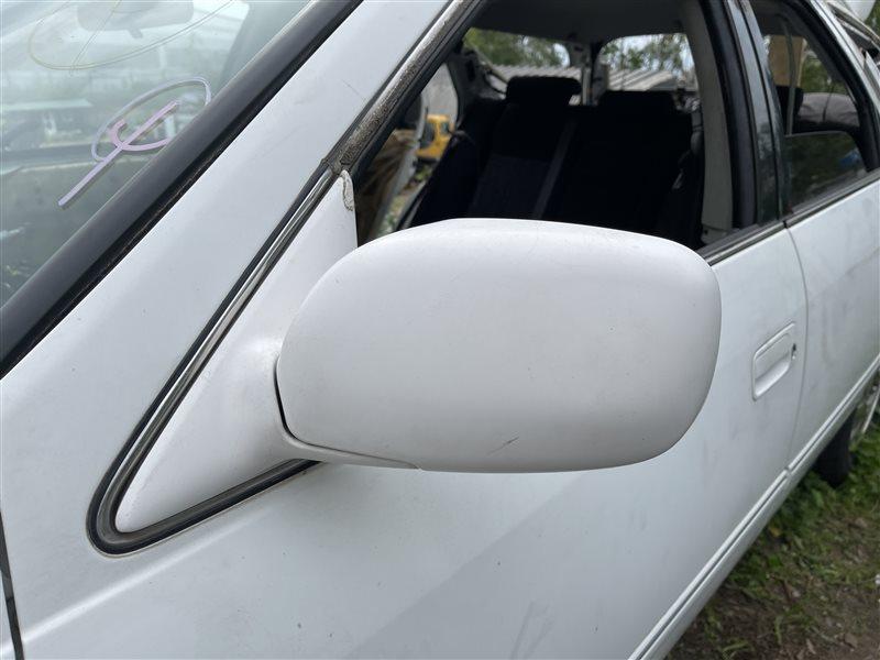 Зеркало заднего вида Toyota Mark Ii Qualis MCV25 2MZFE 2000 переднее левое (б/у)