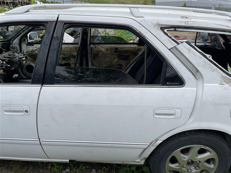 Дверь Toyota Mark Ii Qualis MCV25 2MZFE 2000 задняя левая (б/у)