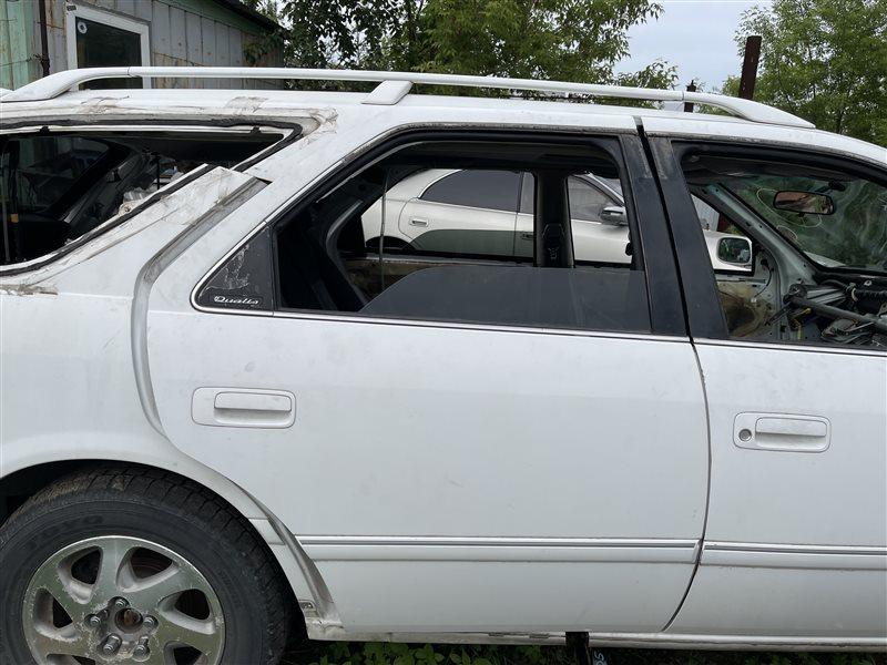 Дверь Toyota Mark Ii Qualis MCV25 2MZFE 2000 задняя правая (б/у)