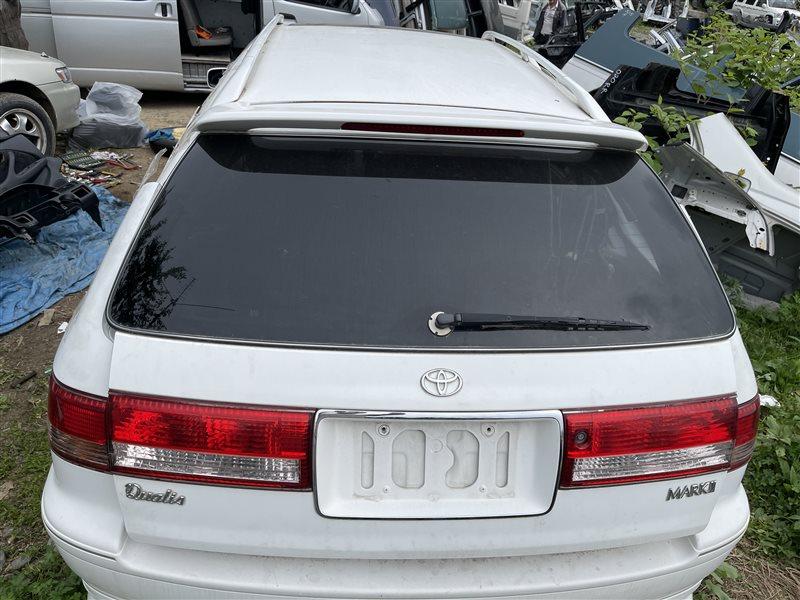 Дверь багажника Toyota Mark Ii Qualis MCV25 2MZFE 2000 задняя (б/у)