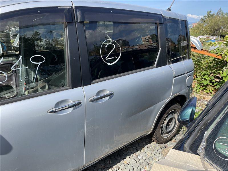 Дверь Toyota Sienta NCP81 1NZFE 2006 задняя левая (б/у)