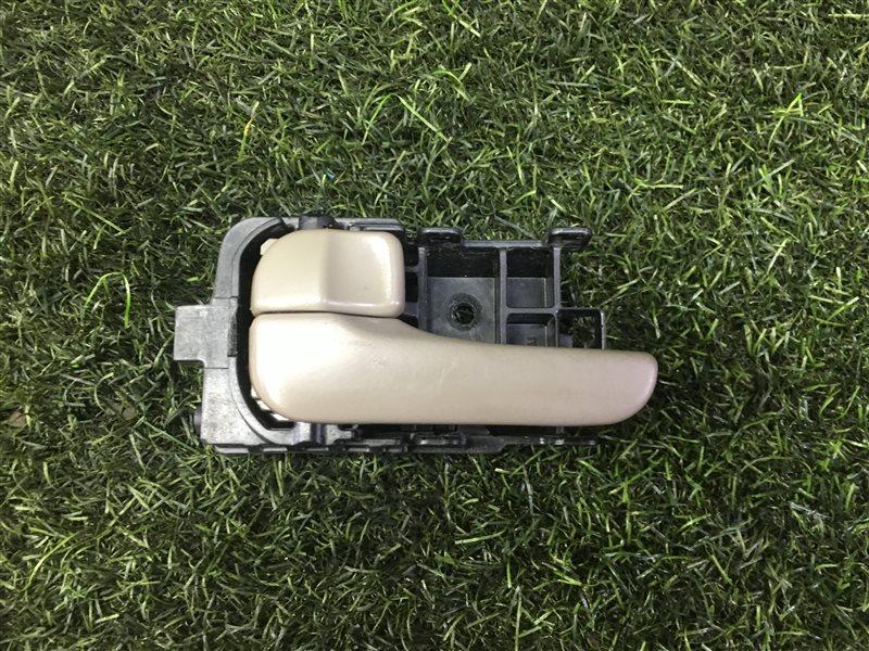 Ручка двери внутренняя Nissan Presage JHU30 QR25DE 2001 передняя левая (б/у)