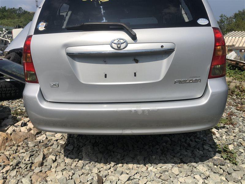 Бампер Toyota Corolla Fielder CE121 1NZFE 2004 задний (б/у)