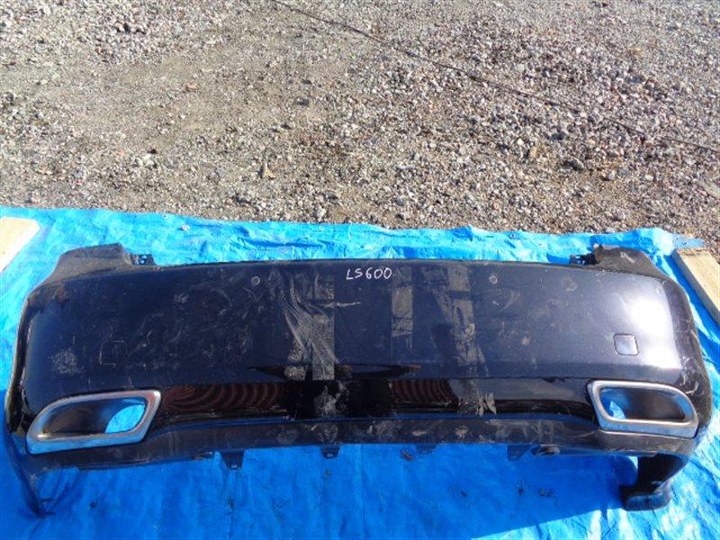 Бампер Lexus Ls460 USF40 2UR-FSE задний СОНАРЫ (б/у)