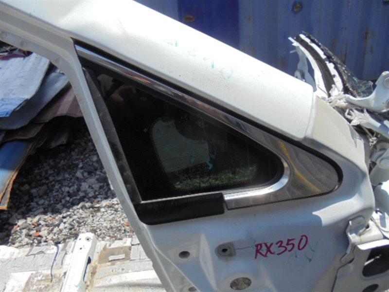 Форточка кузова Lexus Rx350 GGL15 правая (б/у)