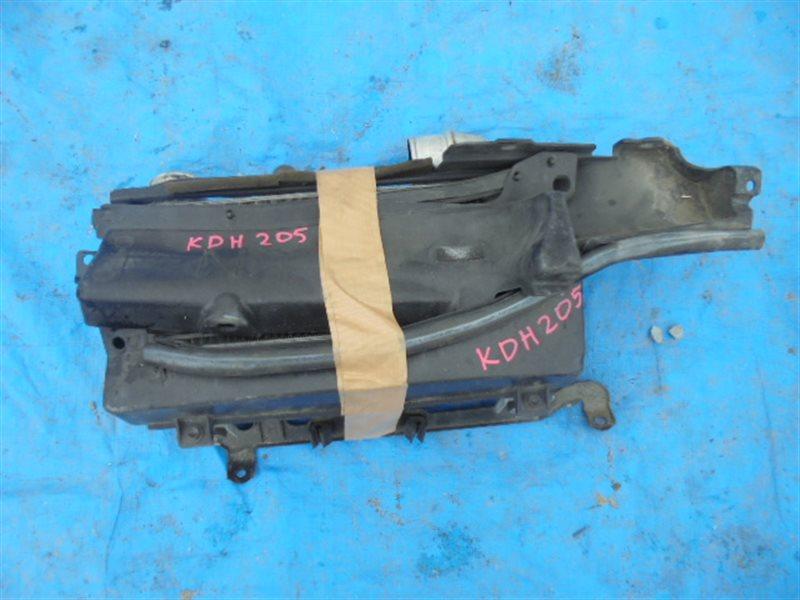 Радиатор интеркулера Toyota Hiace KDH205 (б/у)