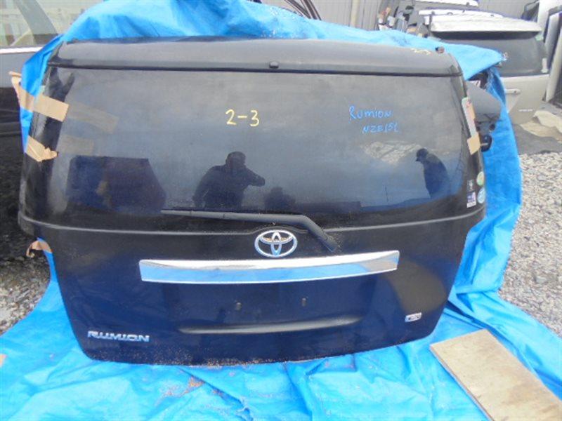 Дверь задняя Toyota Corolla Rumion NZE151 (б/у)