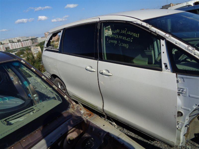 Дверь Toyota Estima Hybrid AHR20 2AZ-FSE передняя правая (б/у)