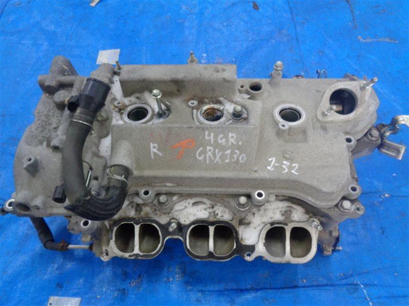 Головка блока цилиндров Toyota Mark X GRX130 4GR-FSE правая (б/у)