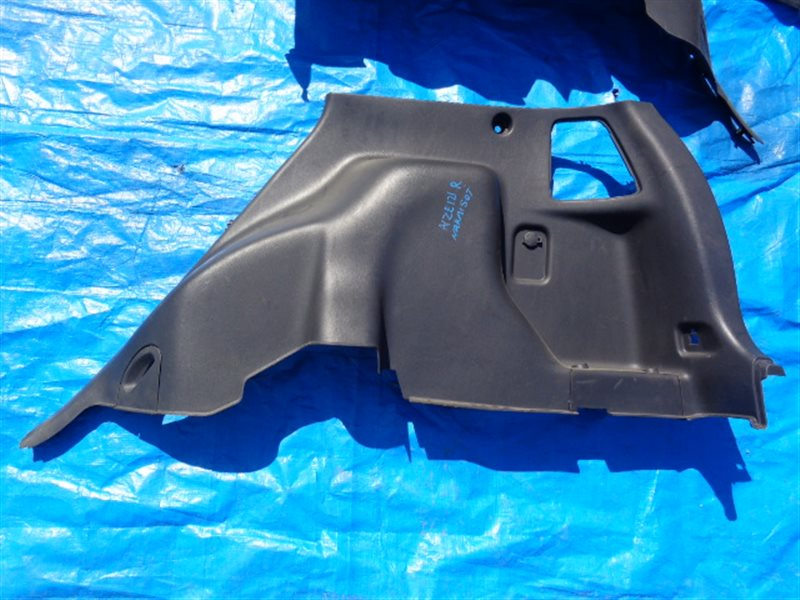 Обшивка багажника Toyota Spacio NZE121 задняя правая нижняя (б/у)