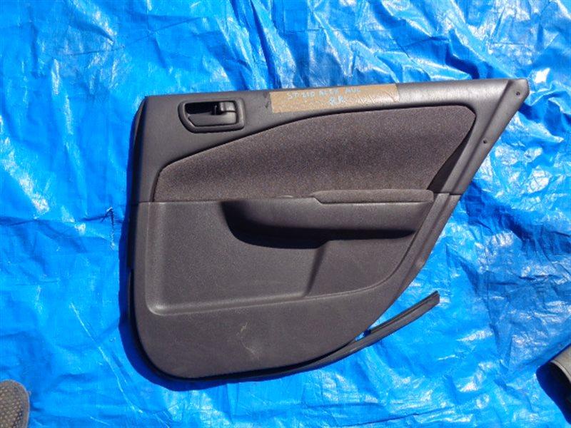 Обшивка дверей Toyota Premio ST210 задняя правая (б/у)