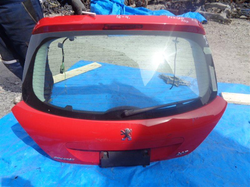 Дверь задняя Peugeot 207 (б/у)
