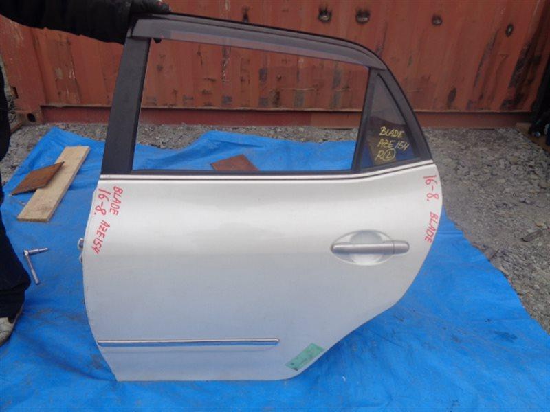 Дверь Toyota Blade GRE156 задняя левая (б/у)