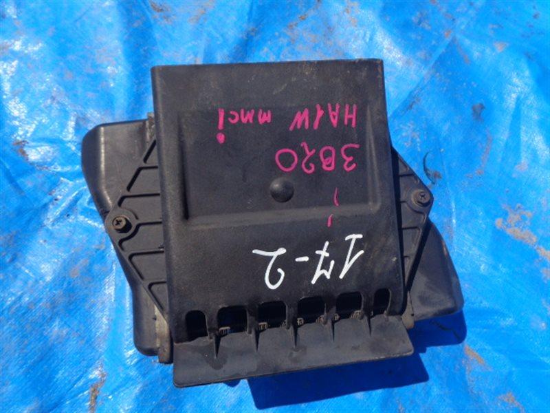 Радиатор интеркулера Mitsubishi I HA1W 3B20 (б/у)
