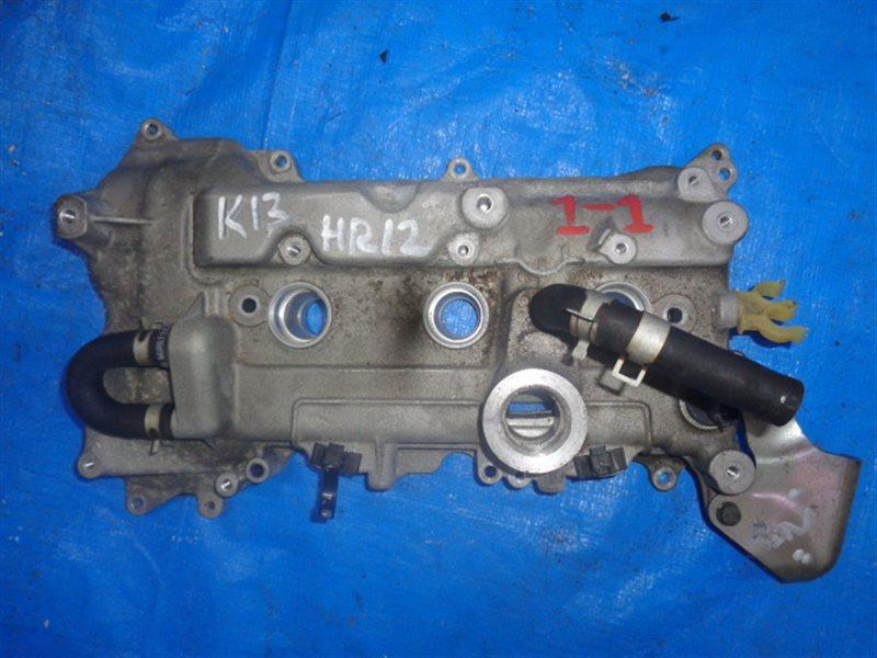 Клапанная крышка Nissan March K13 HR12 +датчик распредвала (б/у)