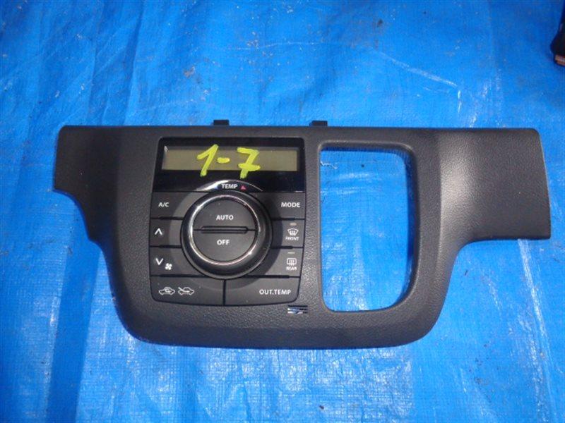 Блок управления климат-контролем Suzuki Spacia MK32S R06A (б/у)
