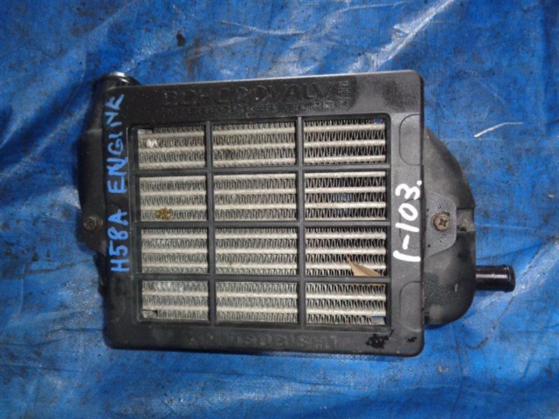 Радиатор интеркулера Mitsubishi Pajero Mini H58A 4A30T 20VALVE (б/у)