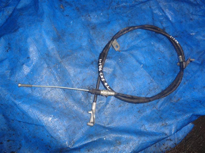 Тросик ручника Mazda Cx-5 левый (б/у)