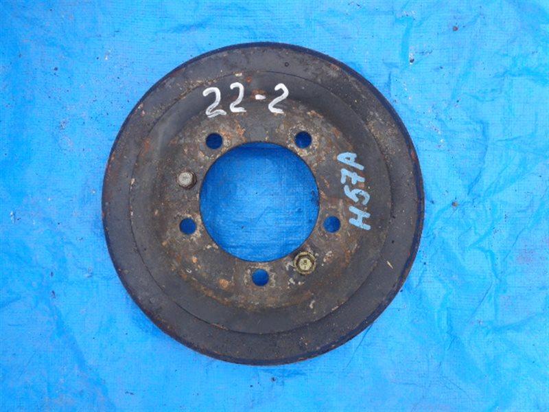 Тормозной барабан Mitsubishi Pajero Junior H57A 4A31 задний правый (б/у)