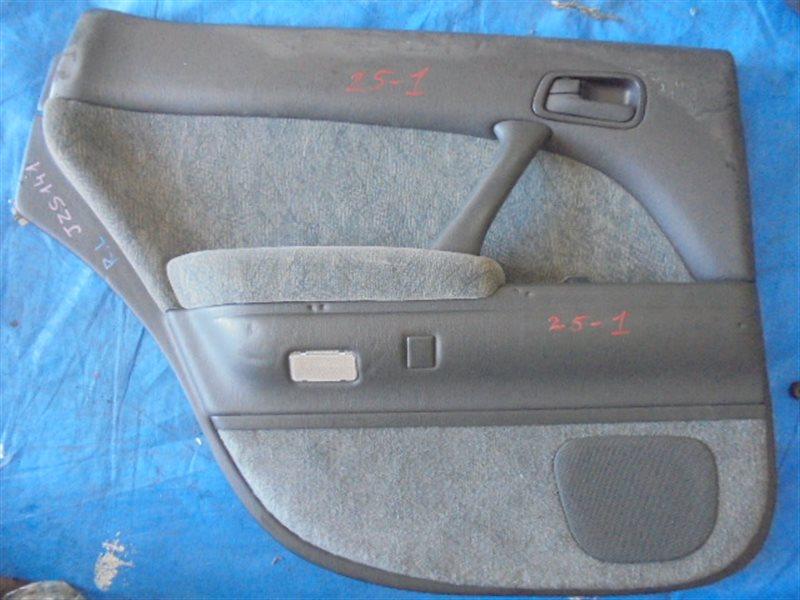 Обшивка дверей Toyota Crown JZS141 задняя левая (б/у)