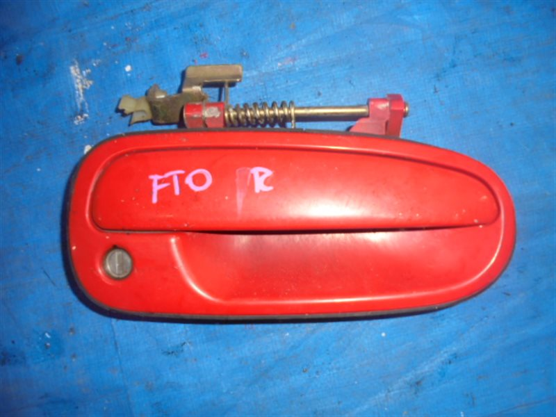 Ручка двери Mitsubishi Fto DE3A передняя правая (б/у)