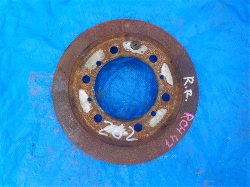 Тормозной диск Toyota Regius KCH46 3RZ-FE задний (б/у)