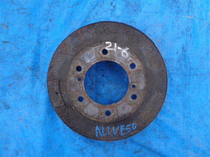 Тормозной барабан Nissan Elgrand ALWE50 задний левый (б/у)