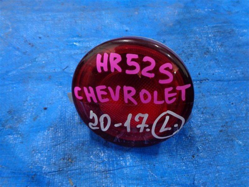 Катафот в бампер Suzuki Chevrolet Cruze HR52S левый (б/у)