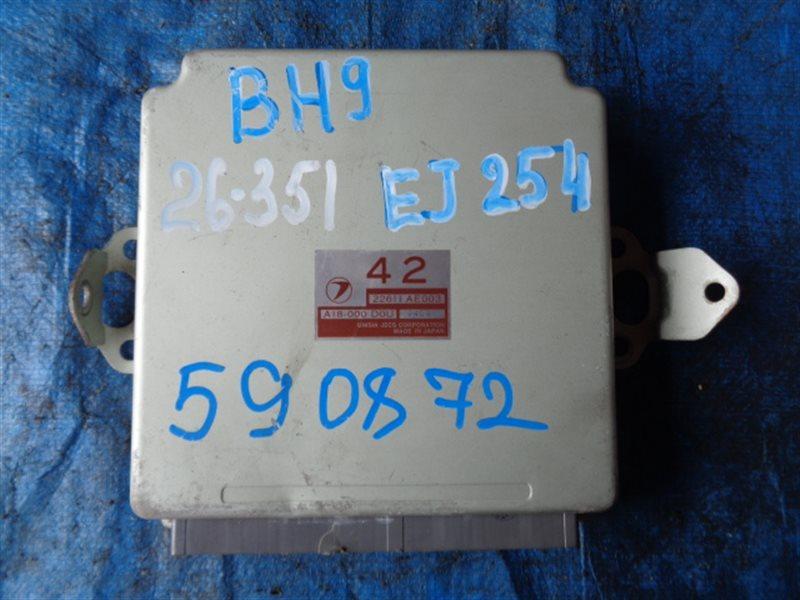 Блок efi Subaru Lancaster BH9 EJ254 A18-000 D0U (б/у)