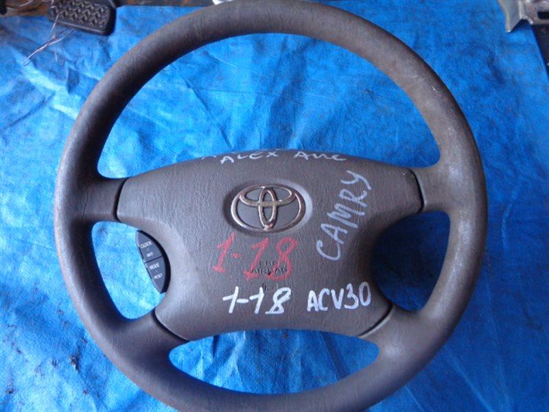 Airbag на руль Toyota Camry ACV30 (б/у)