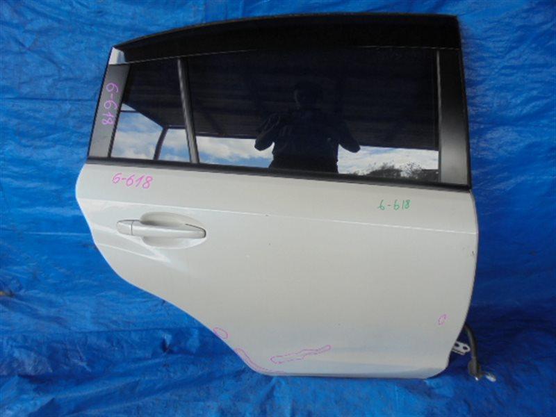 Дверь Subaru Xv GP задняя правая (б/у)