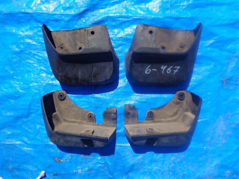 Брызговики комплект Subaru Forester SH (б/у)