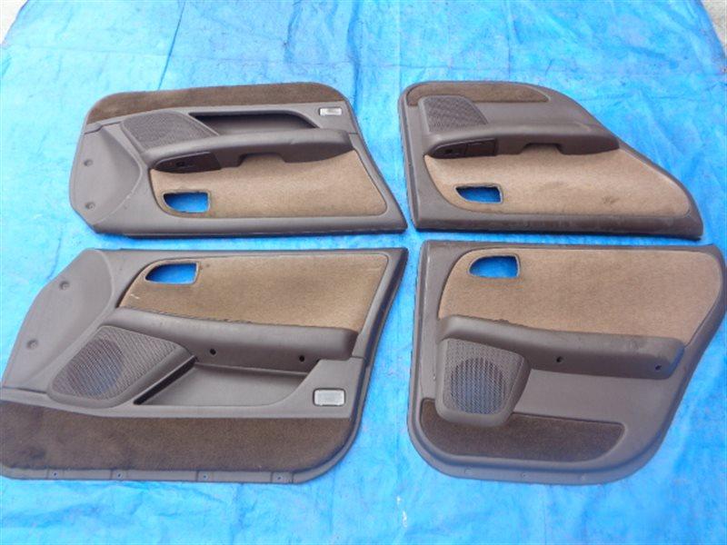 Обшивка дверей Toyota Chaser GX90 задняя левая (б/у)
