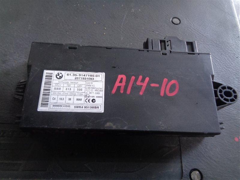 Электронный блок Bmw 1-Series 5WK49513MBR/61.35-9147195-01 (б/у)