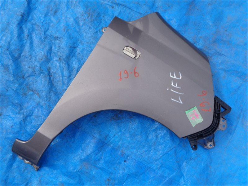Крыло Honda Life JC2 переднее правое + КРЕПЛЕНИЕ БАМПЕРА (б/у)