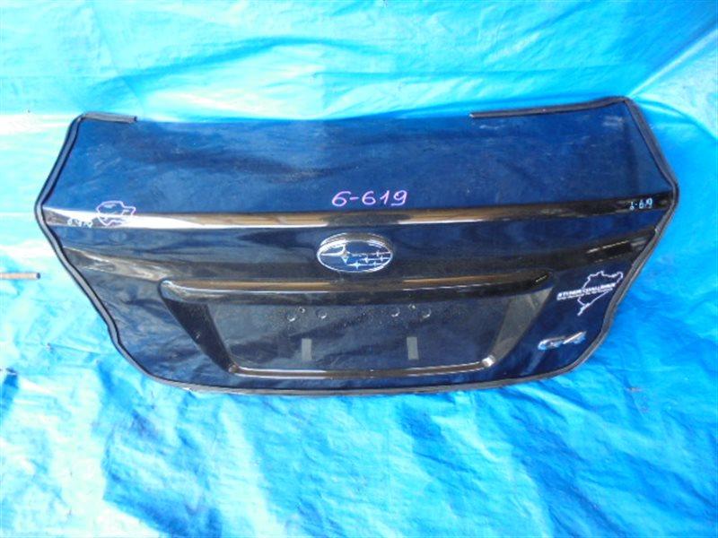 Крышка багажника Subaru Impreza GJ (б/у)