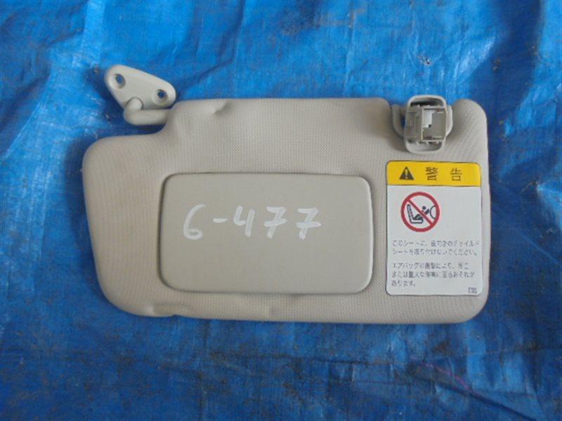 Козырек солнцезащитный Subaru Xv GP7 (б/у)