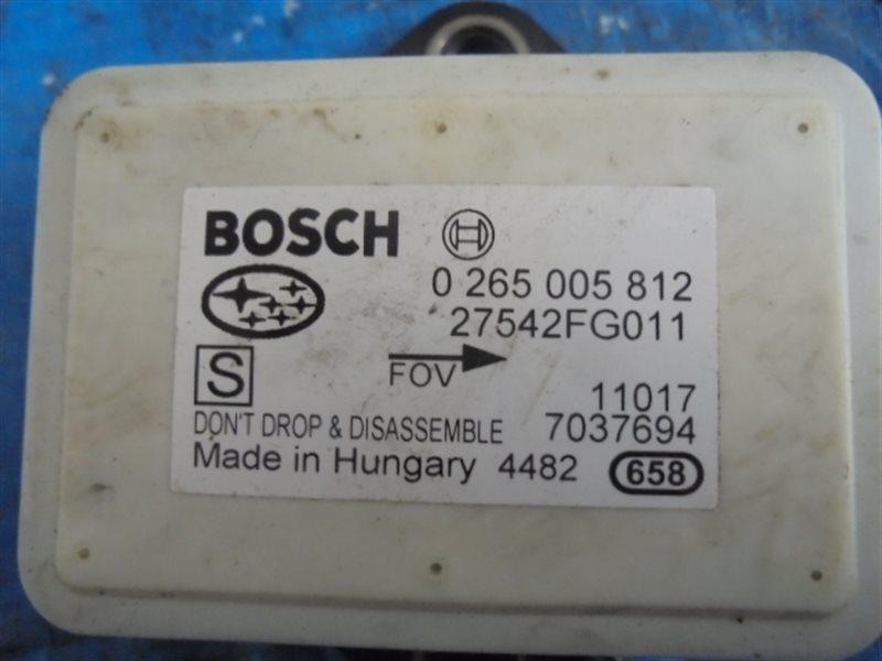 Датчик ускорения Subaru Forester SHJ 27542FG011 (б/у)