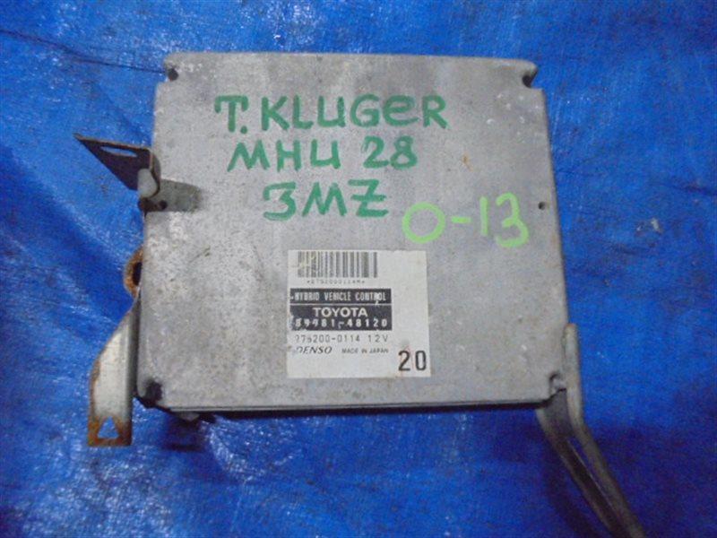 Блок efi Toyota Kluger MCU28 3MZ-FE (б/у)