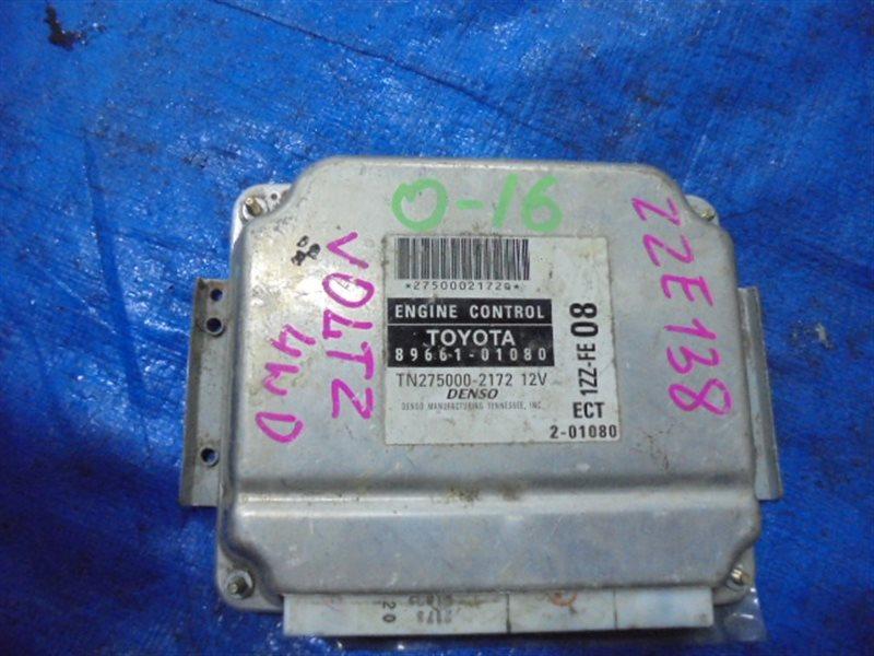 Блок efi Toyota Voltz ZZE138 1ZZ-FE (б/у)