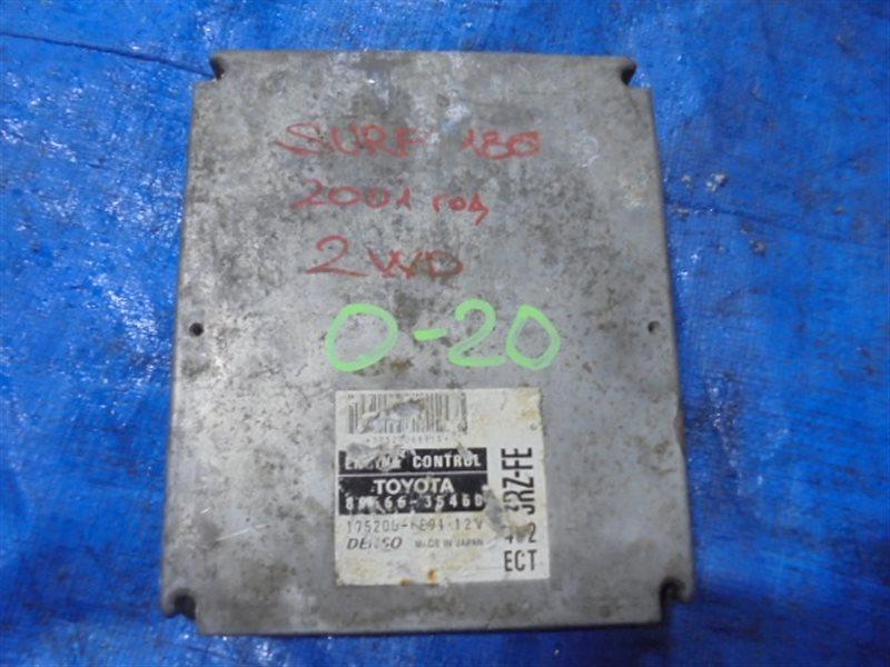 Блок efi Toyota Surf RZN180 3ZR-FE (б/у)